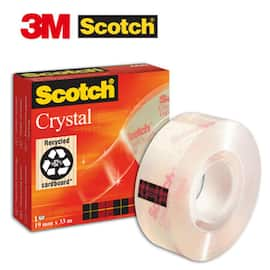 Tape SCOTCH Crystal 600 19mmx33m produktbilde
