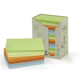 POST-IT Green Line 76x127mm ass frg(16) produktbilde
